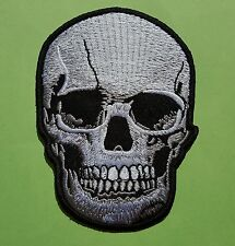 Ecusson patch thermocollant Skull Tête de mort