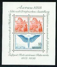 SCHWEIZ. 1938 Block 4 **, (7977)