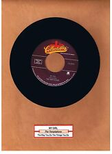 "TEMPTATIONS - MY GIRL / THE WAY YOU DO THE THINGS YOU DO  ""JUKEBOX"" 45  UNPLAYED"