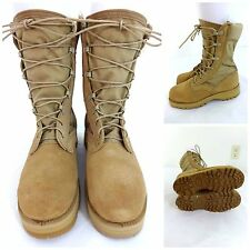 BELLVILLE DESERT TAN HOT WEATHER COMBAT BOOTS SIZE 2.5W BOYS MENS/ 4.5W WOMENS
