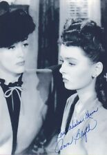 ANN BLYTH Signed 12x8 Photo MILDRED PIERCE & THE GREAT CARUSO COA