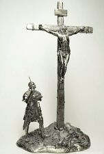 Lead toy soldier,Crucifix,rare,collectable,gift,,decoration,handmade