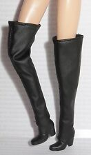 * SHOES ~BARBIE DOLL ANGELICA PIRATES OF CARIBBEAN MODEL MUSE FAUX LEATHER BOOTS