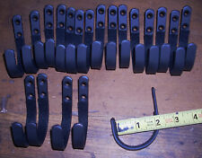10 sets large wall mount Gun rack shotgun hooks rifle hangers felt lined