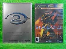 xbox HALO 2 + Steelbook Casing Limited Collectors Edition *NEW* Microsoft PAL