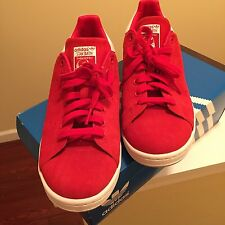 Adidas Men's red sneakers shoes size 10.5