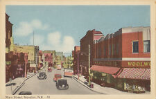 Woolworth Co Department Store Main St MONCTON New Brunswick Canada 1940s PECO PC