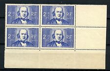 France 1939 SG#648, 2f25 Claude Bernard MNH Block #A56474