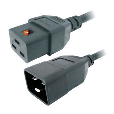 MX 10 Mtr Ac Iec C-20 Male To Iec C-19 Female Server Cord Cable 16 Amp -MX 3584D