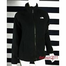 THE NORTH FACE WOMEN'S SIZE `XL FULL ZIP 200 FLEECE BLACK TUNDRA  JACKET