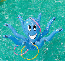 NEW ~ OCTOPUS RING TOSS GAME pool LUAU PARTY birthday Carnival