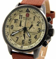 SWISS MILITARY HANOWA 06-4297.30.002 XXL 46mm HERREN CHRONOGRAPH ARROW NEU!!!