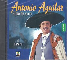 Antonio Aguilar Alma De Acero Con Mariachi  CD New Nuevo sealed