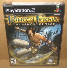 PS2 Prince of Persia The Sands of Time Original 1st Print Black Label New Sealed
