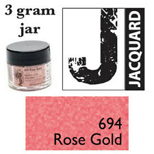 Pearl Ex Mica Powdered Pigments - 3g bottles - ROSE GOLD 694