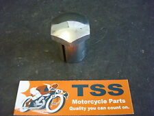 97-4029 NOS TRIUMPH TR25 T120 650 BSA B25 B50 STEERING STEM NUT SHELF WEAR
