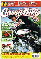 Classic Bike August 2006 VFR750F Hesketh V1000 750 Commando Turbo Trident