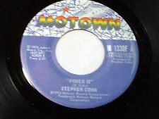 Stephen Cohn: Power Is / Take It Now   [Unplayed Copy]
