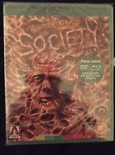 Society (2PC) Blu-Ray/DVD NEW Arrow Video