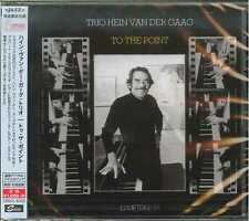 HEIN VAN DER GAAG TRIO-TO THE POINT-JAPAN CD  B63