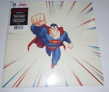 NEW Superman The Animated Series Red Colored Vinyl Die-Cut S Mondo DC