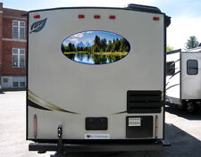 Full Color Mountain Scene Decal for rv travel trailer camper Motorcoach