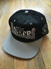 Los Angeles Raiders football backscript vintage snapback splash script