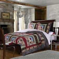 Quilt And Bedspreads Comforter Full Queen Size 3 Piece Set Reversible Bedding