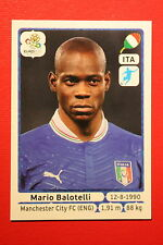 Panini EURO 2012 N. 335 ITALIA BALOTELLI  NEW With BLACK BACK TOPMINT!!