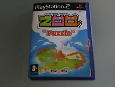 ZOO PUZZLE PLAYSTATION 2 *GOING CHEAP!