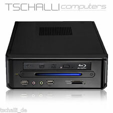 Quad-Core Mini PC 5370 BluRay HDMI 4K USB 3.0 SSD 4GB leise stromspar A48
