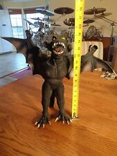 "Vintage Giant Large 15"" Latex Rubber Bendy Vampire Bat Halloween Prop"