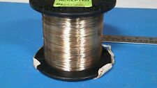 SILVER TARNISH SPOOL OF WIRE APPROX. 2000 ft MODEL: QQW343S24S1S