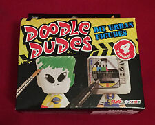 DOODLE DUDES - DIY URBAN FIGURES -  BIRTHDAY PARTY TOY BAG FILLER GIFT