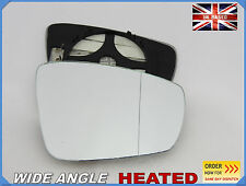 Wing Mirror Glass VW POLO  2009-2016  Aspheric HEATED Right Side #1051