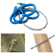 1pcs Steel Wire Saw Outdoor Scroll Travel Camping Hiking Hunting Survival Tool