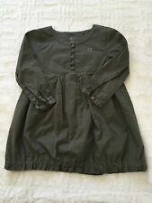 Esprit Tunic Style Top Olive Green Size 92/98 (2-3 Years) Longsleeve Girls