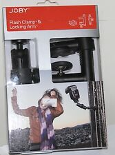 Joby Flash Clamp & Locking Arm New In Box