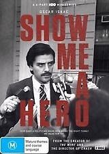 SHOW ME A HERO-Season 1-Region 4-New AND Sealed-2 DVD Set-TV Series