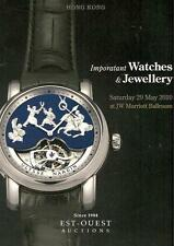 Est-Ouest Watches & Jewelry Hong Kong Auction Catalog 2010