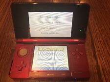 Nintendo 3DS Launch Edition Flame Red Handheld System + 4 GB Card