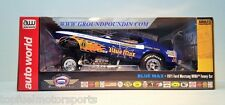 NEW! NEW!1971 Harry Schmidt's FLAMED BLUE MAX NHRA Mustang Funny Car 1/18 AW1171