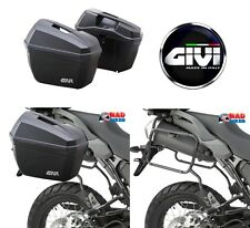 YAMAHA MT09 TRACER 2015   ONWARDS GIVI PLR2122 PANNIER RACK & E22N PANNIER SET