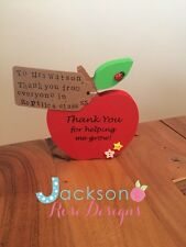 Teacher/nursery/preschool thank you apples, end of year, Christmas gifts