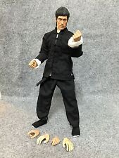 "B042 1/6 CUSTOM Chinese Kung Fu Movie Star Bruce Lee 12"" Action Figure"