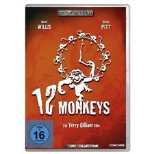 DVD Video 12 Monkeys Bruce Willis Brad Pit Terry Gilliam