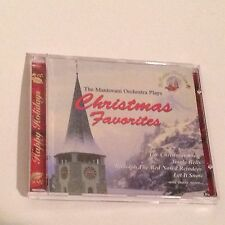 The MANTOVANI ORCHESTRA Plays Christmas Favorites CD 1996 12 Tracks