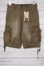 Alpha Industries Terminal Herren Shorts, olive, Gr. W34