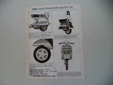 advertising Pubblicità 1983 FAR e VESPA