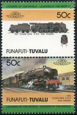 1924 EST / SNCF Classe 241-A 4-8-2 (France) train timbres / loco 100